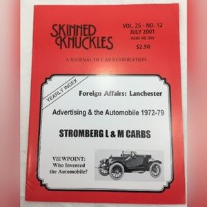 Other - Skinned Knuckles July 2001 Vol 25 No 12 Back Issue